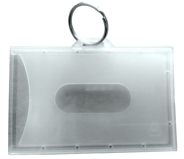 enclosed flexible fuel card holder with keyring - Card Holder With Keyring